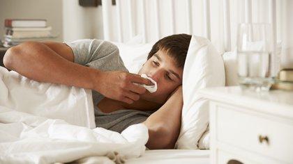 El resfriado común podría ser beneficioso en adelante si se contrae COVID-19 (Shutterstock)