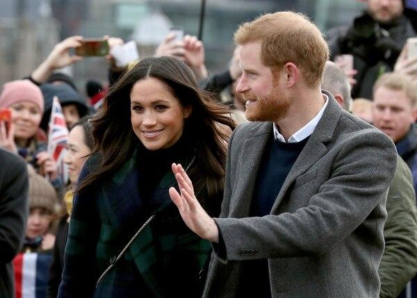 Meghan Markle y el príncipe Enrique se casaran en la Capilla St. George en el Castillo de Windsor (REUTERS/Andrew Milligan/Pool)