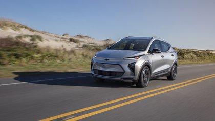 A pesar de que sea eléctrico la marca buscó mantener la línea de los SUV con motor de combustión (Chevrolet)