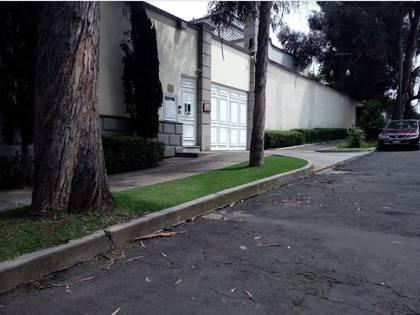 La embajda de Kuwait en México de donde fue robado el can (Foto: google earth)