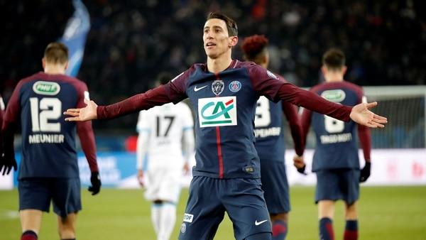 Ángel Di María ocupará el lugar de Neymar en el Paris Saint Germain (Reuters)