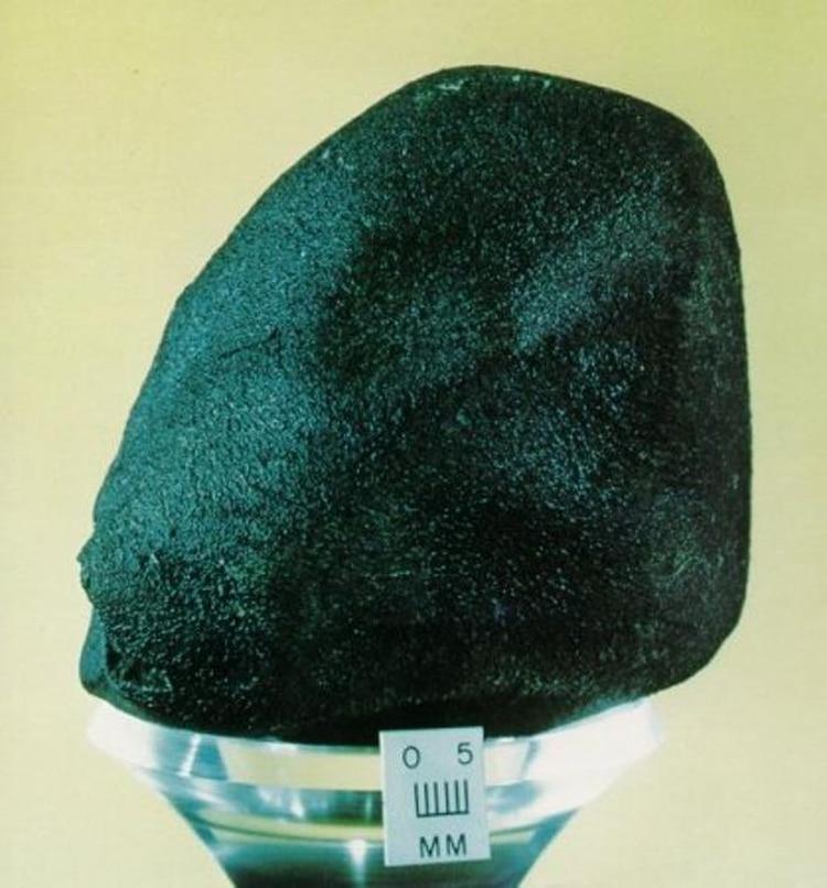 Fragmento del meteorito Murchison (NASA)
