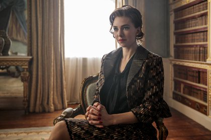 "Vanessa Kirby en ""The Crown"" (Netflix)"