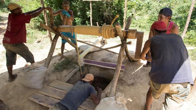 Una mina en el Callao. Foto: Reuters