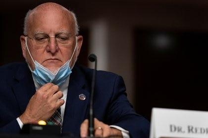 Robert Redfield, director de los CDC (Reuters)
