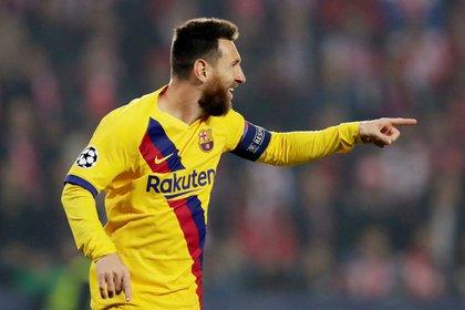Lionel Messi manifestó su deseo de continuar en Barcelona (REUTERS/David W Cerny)