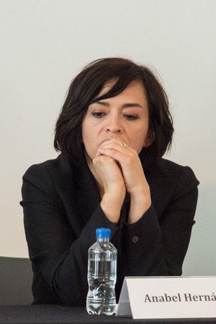 Anabel Hernández señaló que investiga cómo conectar las decisiones polémicas del gobierno de López Obrador (FOTO: TERCERO DÍAZ /CUARTOSCURO.COM)