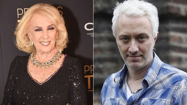 Mirtha Legrand and Andy Kusnetzoff