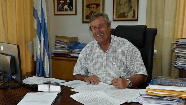 Enrique Antía, intendente de Maldonado