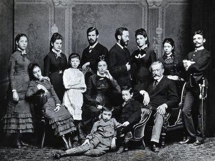 Familia Freud (Foto de 1876)