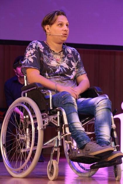 Jonathan perdió la movilidad a los 14 años