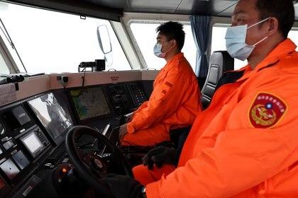 Guardacostas de Taiwán patrullan las islas Matsu (Reuters)