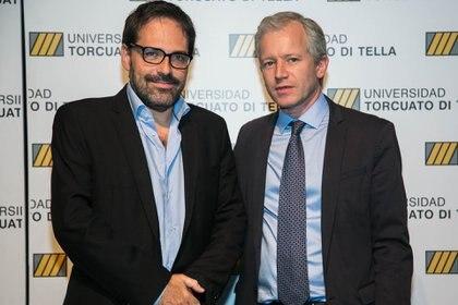 El Subsecretario de Energía Nuclear Julián Gadano junto al rector Schargrodsky