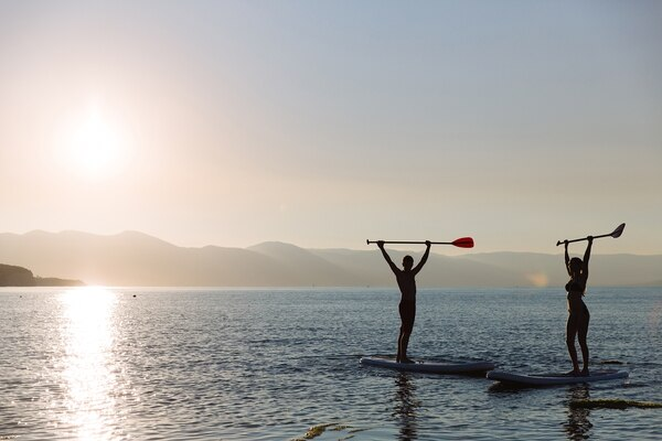 El Stand Up Paddle se originó en los años 40 en Hawaii (Getty Images)