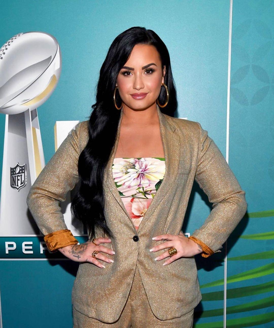 Demi Lovato apoyó a Cyrus durante momentos difíciles (Foto: Instagram@ddlovato)