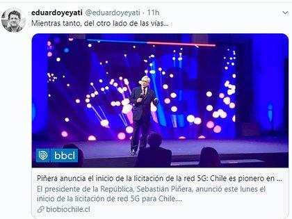 Chile lanzó 5G la semana pasada