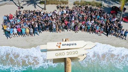 Un encuentro de 300 empleados de la empresa en Florida, EEUU, a comienzos de este año