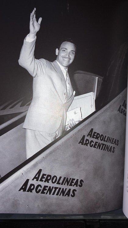 Tucumano de nacimiento, llegó a Buenos Aires y conquistó la gran ciudad para siempre. (Gentileza, archivo personal Omar Romay)