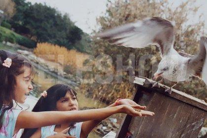 Desde chica que a Silvina le gustan los animales