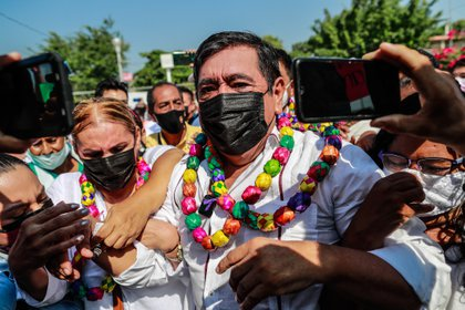 El político mexicano Félix Salgado Macedonio del partido Movimiento Regeneración Nacional. EFE/ David Guzmán/Archivo