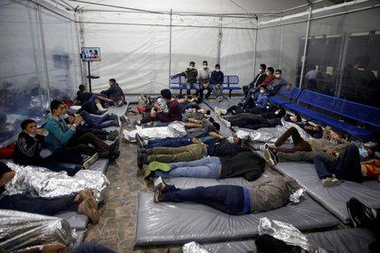 Centro de detención para migrantes menores no acompañados, en Texas (Reuters)