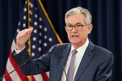 Jerome Powell, el titular de la Fed (REUTERS/Kevin Lamarque)