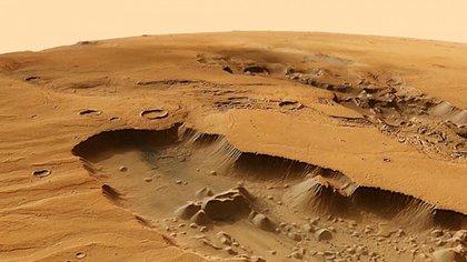 El helicóptero de la NASA permitirá observar a Marte desde su cielo