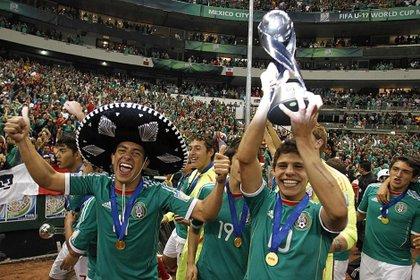 El Potro lideró las selecciones sub-17, sub-22 y sub-23 de la selección mexicana (Foto: Reuters)
