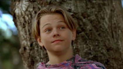 Leonardo DiCaprio a los 17 años