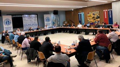El consejo directivo de la CGT volvió a reunirse en Azopardo 802