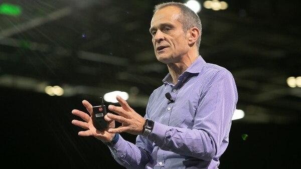 Jean-Pascal Tricoire, CEO de Schneider Electric, durante el Congreso de Innovación 2018, en París