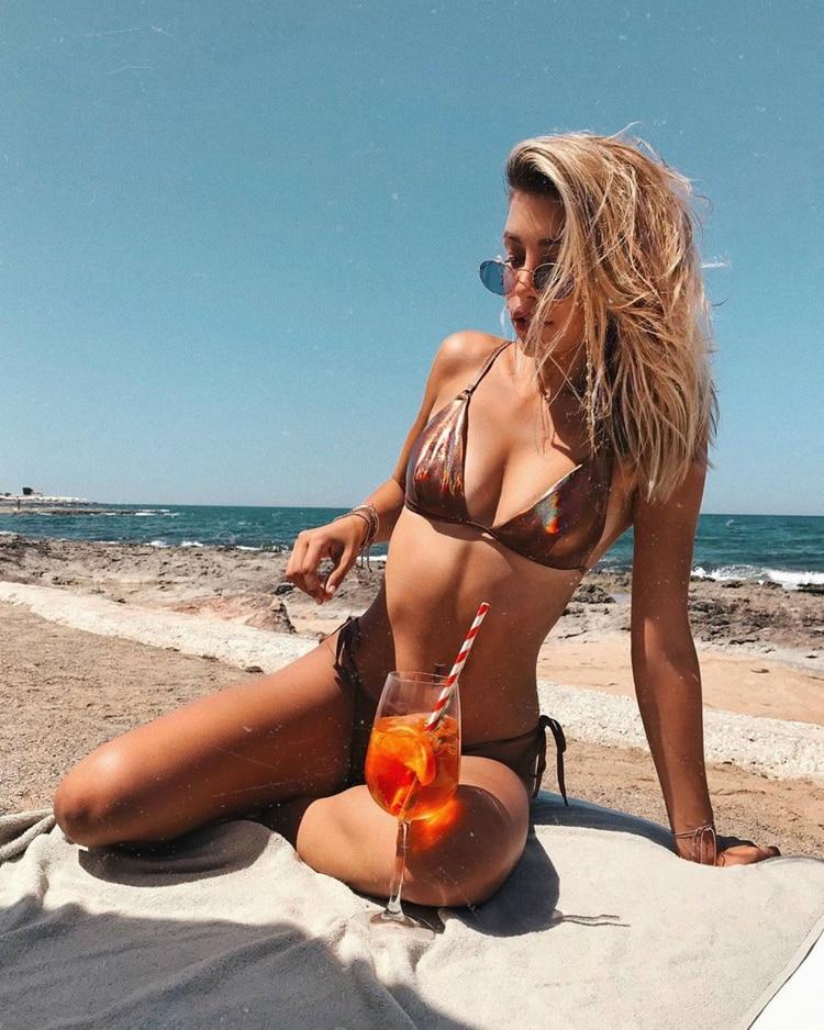 Salas disfrutó así del sur de Italia (Instagram)