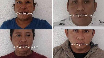 Los policías involucrados en el caso son cuatro hombres y una mujer (Foto: C4Jimenez)