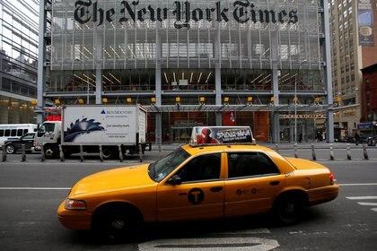 La oficina central de The New York Times. Foto: REUTERS/Carlo Allegri