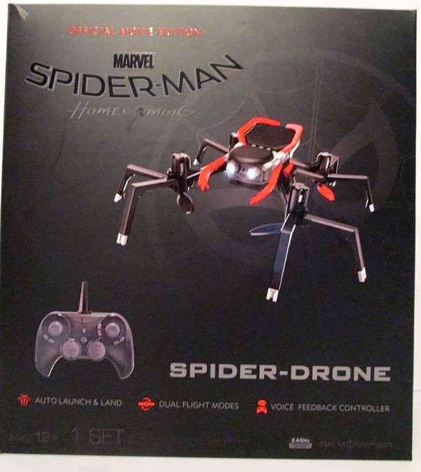 SPIDER-MAN SPIDER-DRONE OFFICIAL MOVIE EDITION