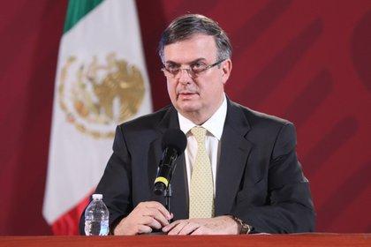 El secretario de Relaciones Exteriores (SRE) de México, Marcelo Ebrard (EFE/ José Pazos/ archivo)