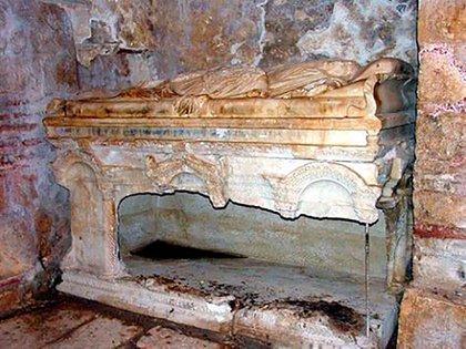 Sepulcro original de San Nicolás en Turquía