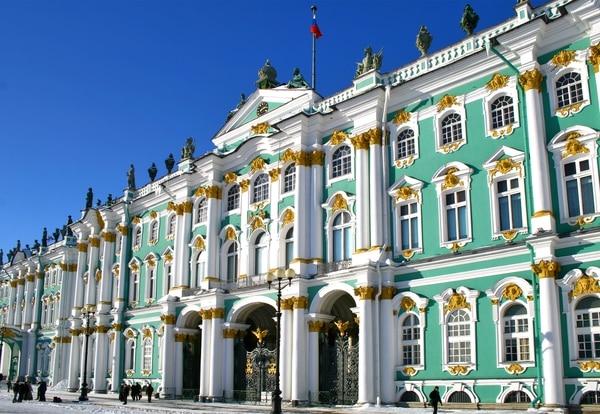 El Palacio de Invierno es el más importante del Museo Hermitage en San Petersburgo, Rusia(Getty Images)