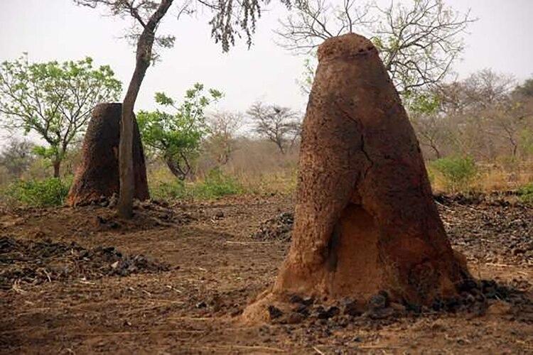 En Burkina Faso la antigua metalurgia distribuida en cinco provincias diferentes dejó varias estructuras de minas y restos de antiguas viviendas (Unesco)