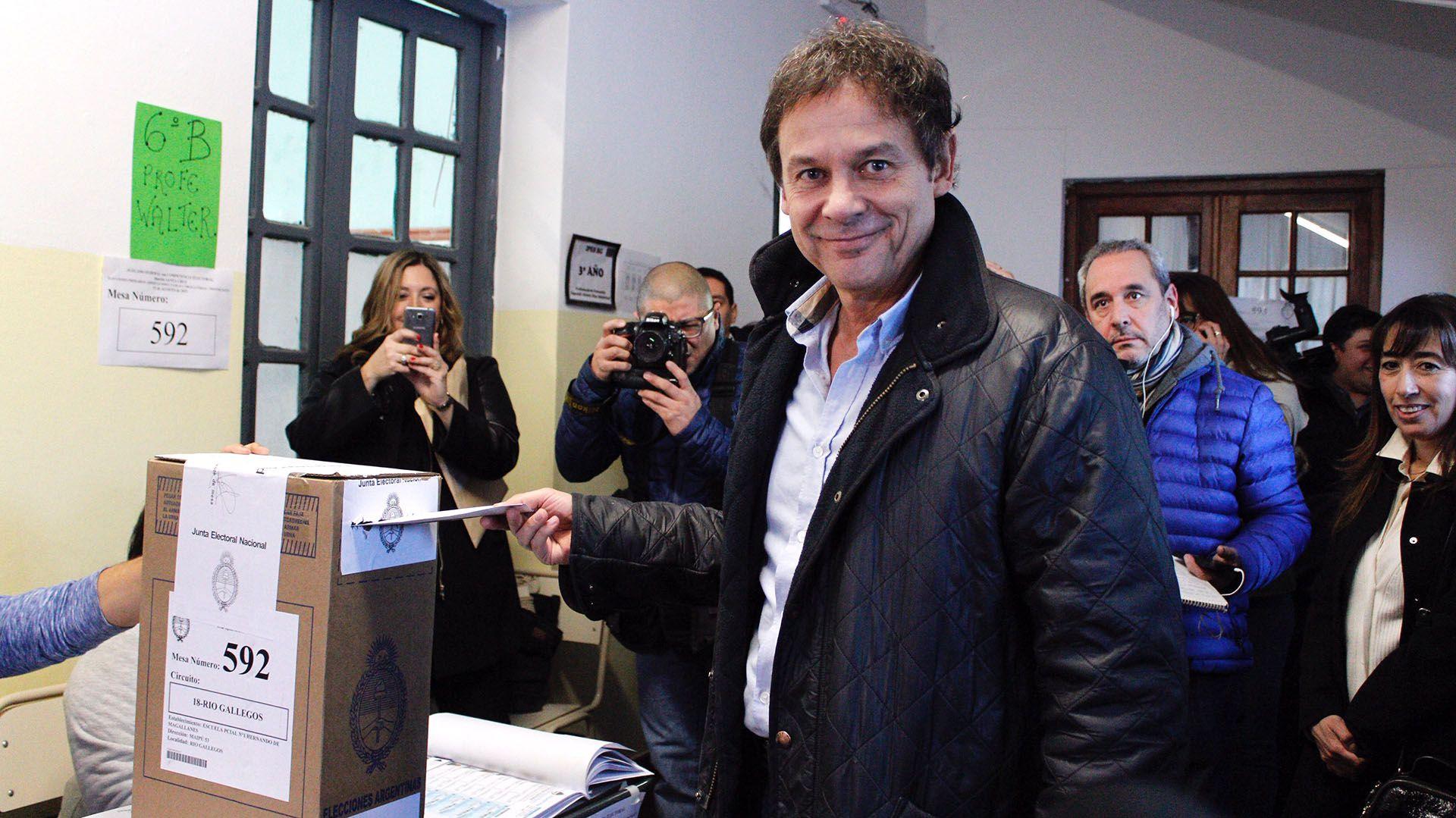 Eduardo Costa. El radical quiere derrotar a Alicia Kirchner (Walter Diaz)