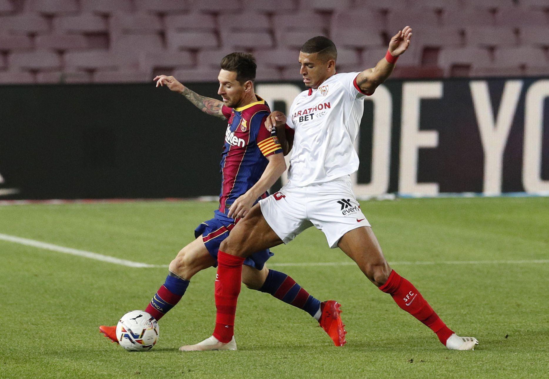 Barcelona vs. Sevilla, capítulo I: empiezan a definir al finalista de la Copa del Rey (Foto: Reuters)