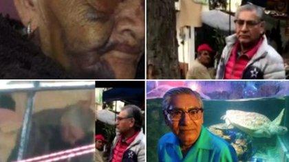 El caso se hizo viral, tras la difusión de un video en el que se muestra a un sujeto golpeando a una mujer de 95 años (Captura de pantalla Twitter)