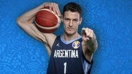 Agustín Caffaro tuvo poca incidencia (Foto: FIBA)