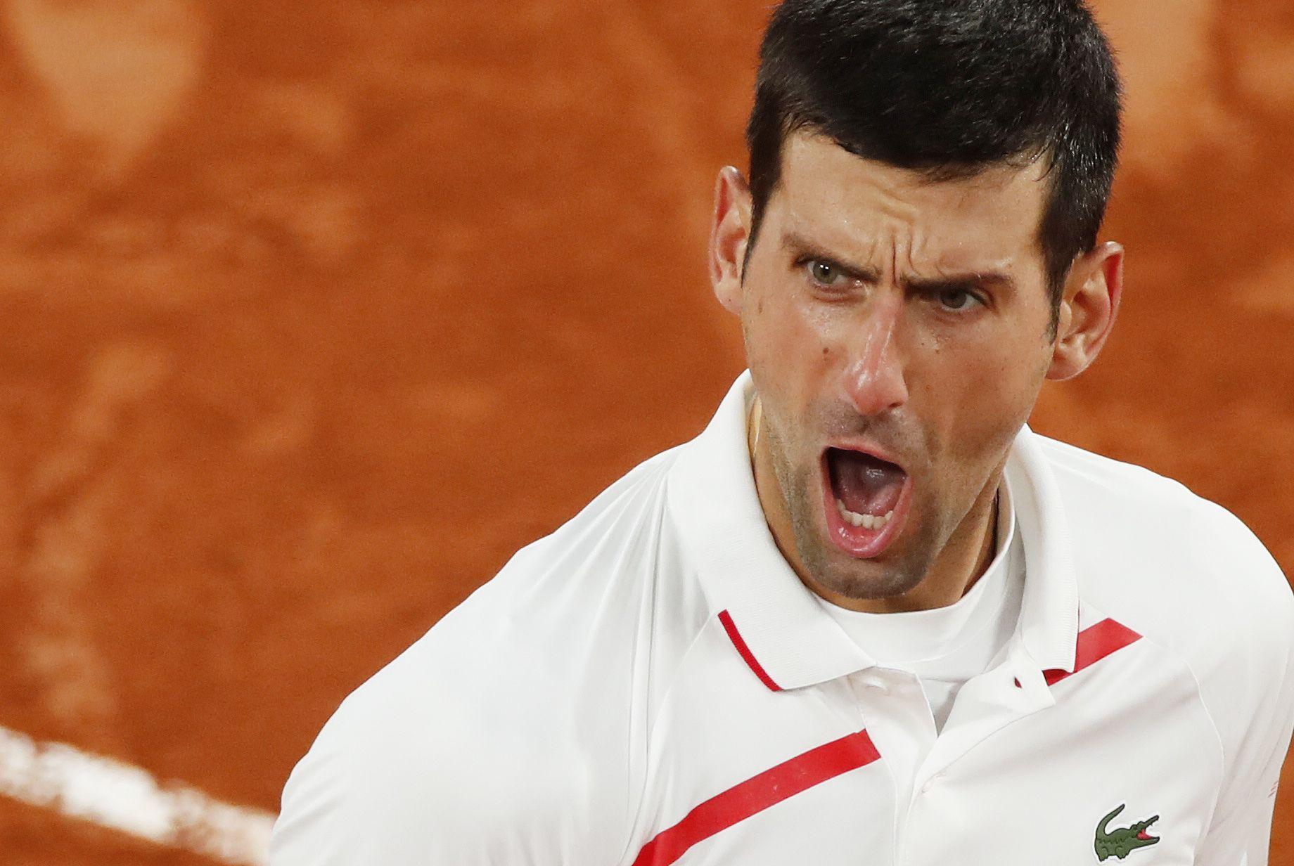 El serbio accedió a las semifinales del Roland Garros - REUTERS