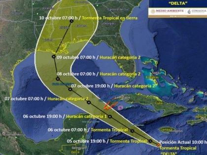 Alerta En El Sureste Las Tormentas Tropicales Delta Y Gamma Amenazan A Yucatan Y Quintana Roo Infobae