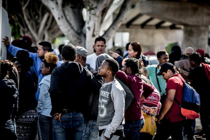 Los migrantes ven a México como un lugar de paso en su lucha por el sueño americano (Foto: Cuartoscuro)