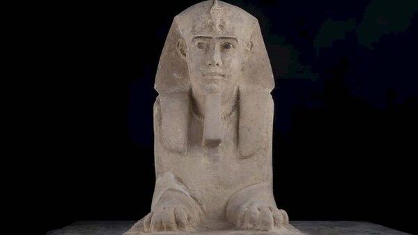 Increíble hallazgo en Egipto: arqueólogos descubrieron una milenaria esfinge