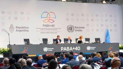 El informe de la OCDE se presentó durantela Segunda conferencia de alto nivel de las Naciones Unidas sobre la Cooperación Sur-Sur (PABA +40).