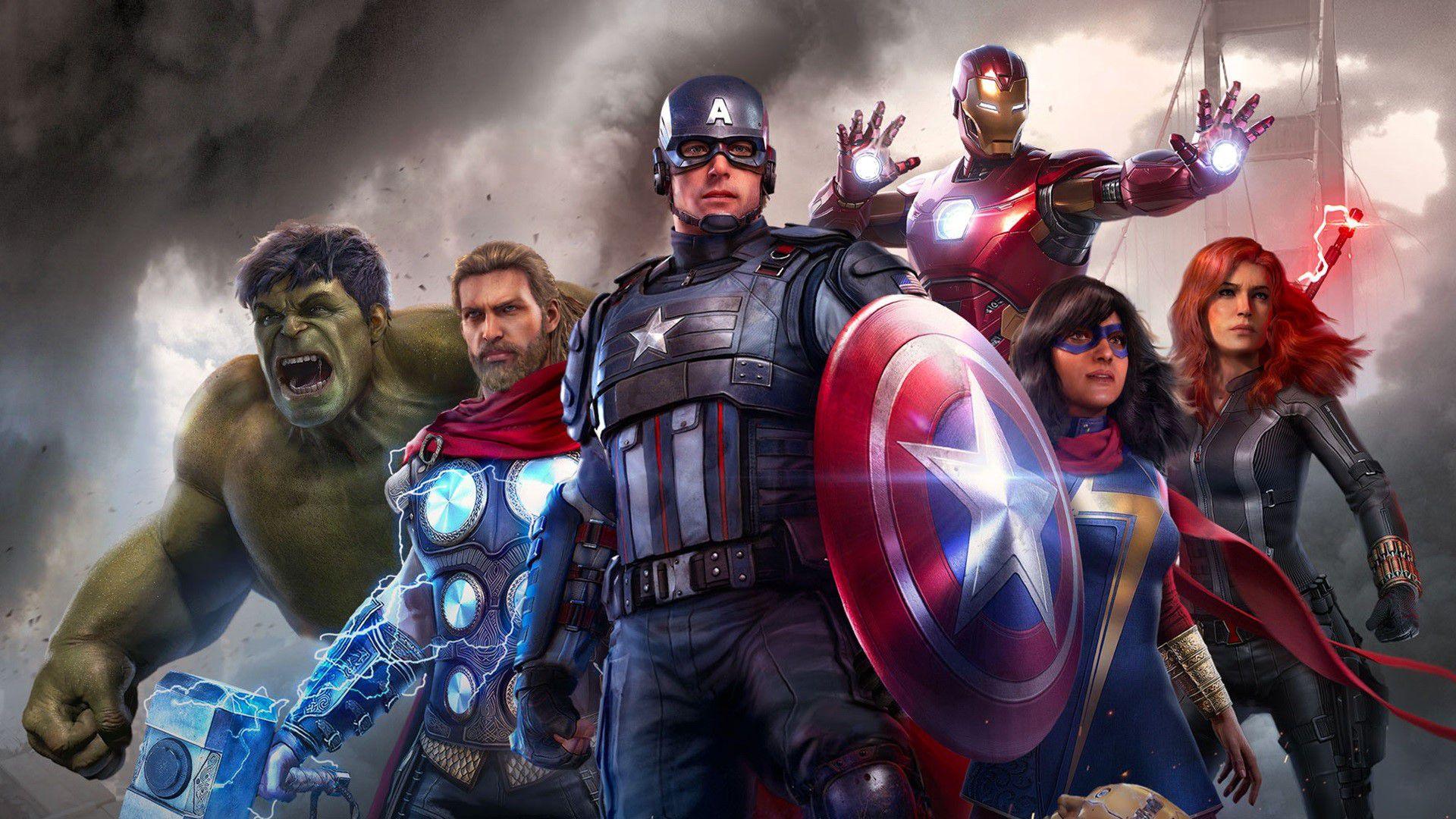 El videojuego Marvel's Avengers figura entre los títulos de 2020 más vendidos en Steam