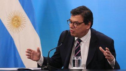 El ministro de Trabajo, Claudio Moroni (Foto: Presidencia)